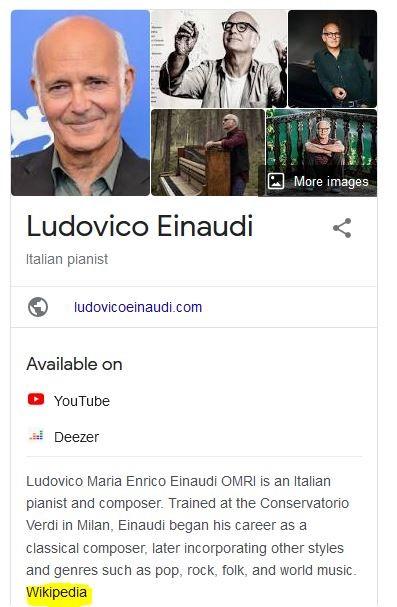Ludovico Einaudi's